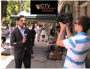 ICTV on location