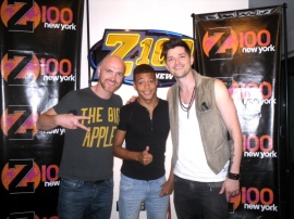 Luis Inoa at Z-100