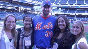 MCO Broadcasting Group with Mets P Bobby Parnell group