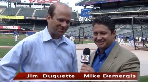 Mike Damergis with Jim Duquette 1