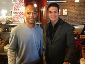 Richard Giacovas with Mariano