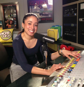 Andrea Rodgers interned at Hot 97